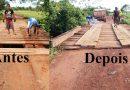 Reforma da ponte do Setor 7 da PA 254