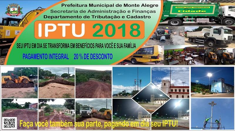 Atenção população de Monte Alegre