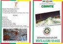 Convite para o Aniversario de Monte Alegre