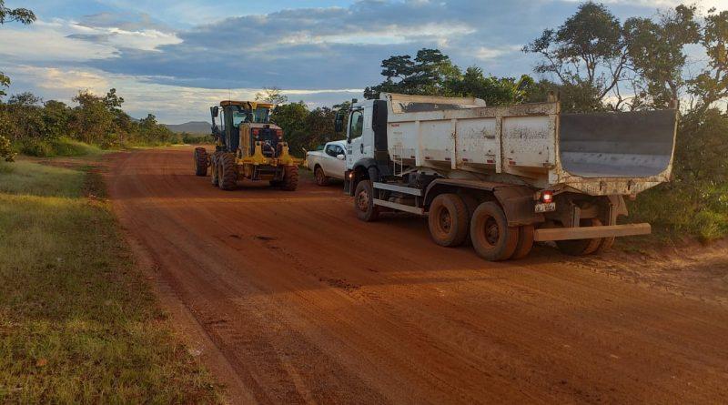 Serviço de terraplanagem em Monte Alegre