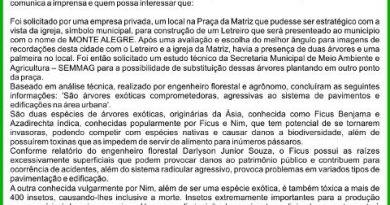 PREFEITURA MUNICIPAL DE MONTE ALEGRE  COMUNICADO