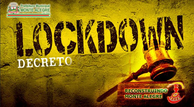 Decreto 238/2020 – Prorrogação do Lockdown em Monte Alegre ...