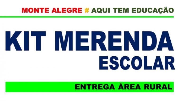 Entrega dos Kits de Merenda Escolar – Prefeitura Municipal ...
