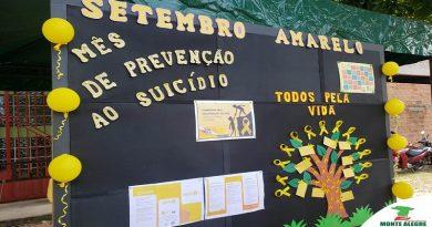 CAMINHADA EM MONTE ALEGRE CHAMA ATENÇÃO PARA PREVENÇÃO AO SUICÍDIO